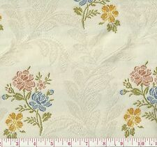 Fabricut Dulcet Nectar Pink Blue Floral Woven Home Decor Fabric BTY