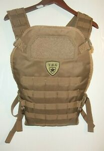 TBG Tactical Baby Gear MOLLE Tactical Baby Carrier Coyote Brown NWOT