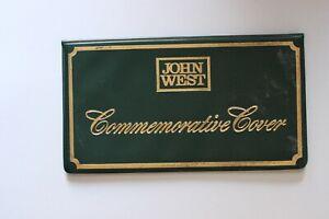 1984 JOHN WEST COMMEMORATIVE FIRST & LAST AUSTRALIAN $1 NOTE COIN UNC (Sc45/K5)