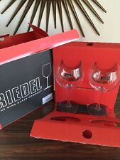 Riedel Flow Montrachet Glass Set Of 2 Boxed Unused Germany
