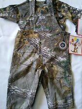 Realtree Lil Joey Camoflauge Overalls And T-shirt Medium(6-12months)