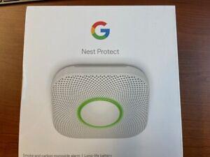 Brand New in Box Nest 2nd Generation Smart Smoke/Carbon Monoxide Alarm (Battery)