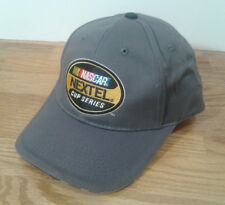 Nascar Nextel Cup Series Gray Baseball Cap Hat Hats Trucker Adjustable