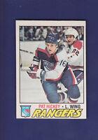 Pat Hickey 1977-78 O-PEE-CHEE Hockey #221 (EXMT+)