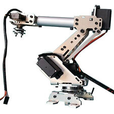 KDX DIY 6DOF Aluminum Robot Arm 6 Axis Rotating Mechanical Robot Arm Kit With 6