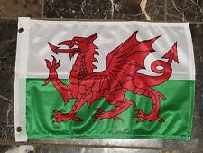 12x18 12''x18'' Wales Welsh Rough Tex Knitted Boat Flag Banner Brass Grommets