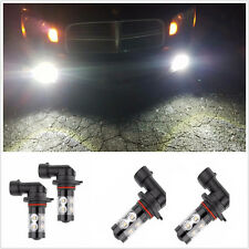 Universal High Power LED CREE 6000K 2x 50W H10 9145 Super White Fog Lights Bulbs