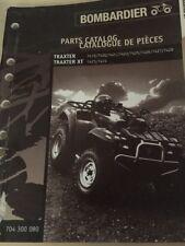 Can Am Traxter XT Parts Catalog Manual Bombardier