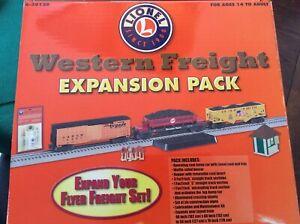 Lionel O Gauge #6-30128 Western Freight Expansion Pack 3 Car Set