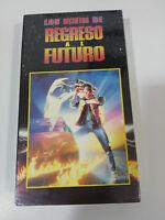 LOS SECRETOS DE REGRESO AL FUTURO TRILOGIA CINTA TAPE VHS COLECCIONISTA NUEVA