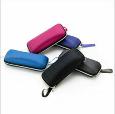 Fashion Honeycomb Pattern Glasses Case Portable Zipper Eye Glasses Case Hard