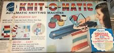 Knit O Matic Vintage Toy Kenner Automatic Knitting Machine No.1240