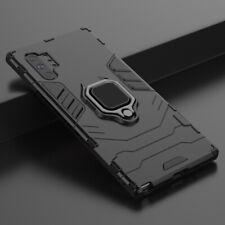 Para Plus Samsung Galaxy Note 10 Anillo Magnético Titular de Coche a Prueba De Golpes Funda