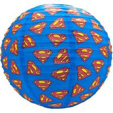 Superman- Logo Collapsible Paper Lampshade - New & Official DC Comics
