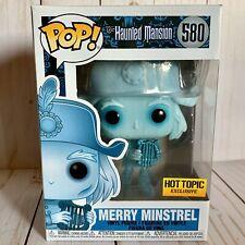 Funko Pop! Disney Haunted Mansion 50th - Merry Minstrel Figure Hot Topic Ex