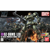 BANDAI HGAC 1/144 OZ-06MS LEO Plastic Model Kit Gundam W NEW from Japan