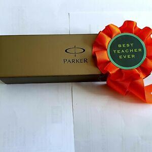 Premium Quality - VINTAGE PARKER BALL POINT PEN SET IN ORIGINAL CASE - Gift