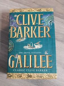 Clive Barker Galilee hardback book signed by author