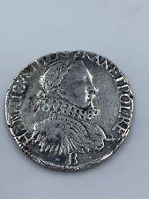 PIECE DEMI TESTON HENRI III HENRICVS III D G FRAN ET POL REX 1575 B ROUEN W114