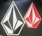 Authentic Team Rider Volcom Stone Stickers 10 inches -n- 7 inches