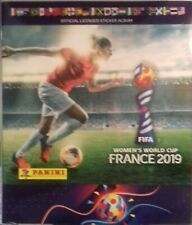 album incomplet panini WOMEN'S FRANCE 2019 ( manque 22 stickers )