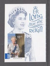 Australia 2015 Long May She Reign. Mint unhinged stamp with descriptive label.