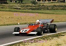 CLAY REGAZZONI FERRARI 312 B2 AUSTRIACO GRAND PRIX 1972 Fotografia