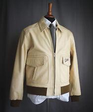 Schott veste cuir-Crème, vachette, taille L