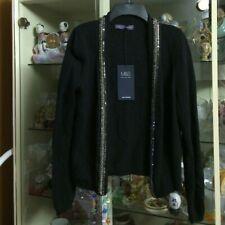 MSRP $64 NWT Marks & Spencer Black Sweater Size UK12/Eur 40