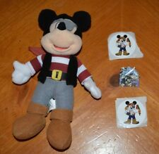 EXCLUSIVE DISNEY PIRATE MICKEY MOUSE DEAL: PLUSH TOY, STICKERS & RARE PIN