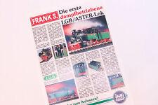 LGB Kataloge / Zeitschriften - LGB Prospekt LGB ASTER & LGB 22988 Circus Set