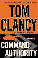Jack Ryan: Command Authority by Mark Greaney and Tom Clancy (2013, Hardcover)