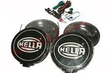 Hella Black Magic Comet 500 Halogen Driving Lamp Kit With Fitting Car Truck GEc