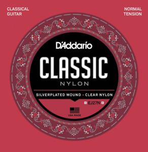 D'Addario EJ27N Classical Guitar Nylon Strings Normal Tension