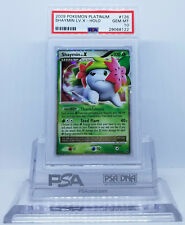 Pokemon PLATINUM SHAYMIN LV X #126 HOLO FOIL CARD PSA 10 GEM MINT #*