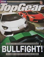 Top Gear magazine 06/2011 featuring Lamborghini Aventador, SAAB Phoenx, BMW