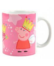 Peppa Pig Tasse King George Kaffeetasse Wutz Becher Mug Kinder Kaffeebecher NEU