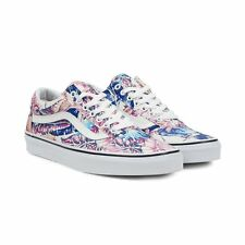 VANS Old Skool (Tropical) Multi/True White Casual Classic MEN'S SIZE 8.5
