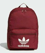 Adidas originals Classic adicolour Backpack Bag burgandy school gym men women