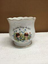 Vintage 1976 Fran Mar Moppets Flower Pot/planter
