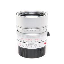 Leica Summilux M50mm F/1.4 ASPH.(6bit)Silver #175