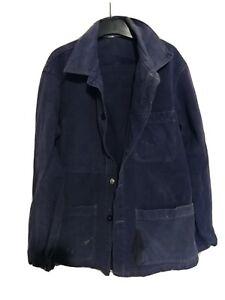 Veste Bleu de travail Vintage