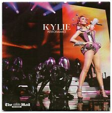 KYLIE MINOGUE  PERFORMANCE UK ONLY 12 Track PROMO CD LIVE IN NEW YORK BRAND NEW!