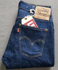 Damen Jeans LEVIS LEVI´S Vintage Clothing 606 Slim Orange Tab Big E W27 L32