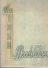 1956 William Woods All Girls College Yearbook, Woods Echoes Fulton, Missouri