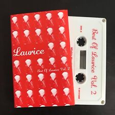 Laurice - Best Of Volume 2 cassette tape psych glam pop disco gay Migthy Mouth x