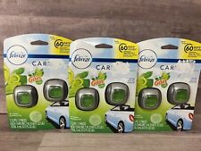 3-Febreze Car With Gain Original Car Vent Clips Air Freshener 2 Pack