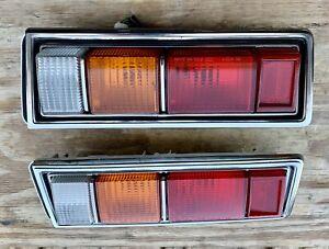 Pair (2) 1976-79 Buick Opel Isuzu LH & RH Tail Light Lights Lamp 76 1977 1978 77