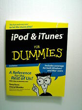 iPod & iTunes for Dummies by Cheryl Rhodes, Tony Bov...
