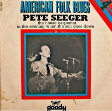 ++PETER SEEGER the house carpenter/in the evening when the sun goes down SP VG++